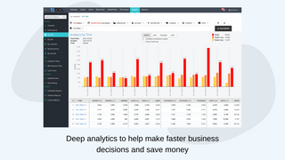 Deep analytics to make better decisions and save money