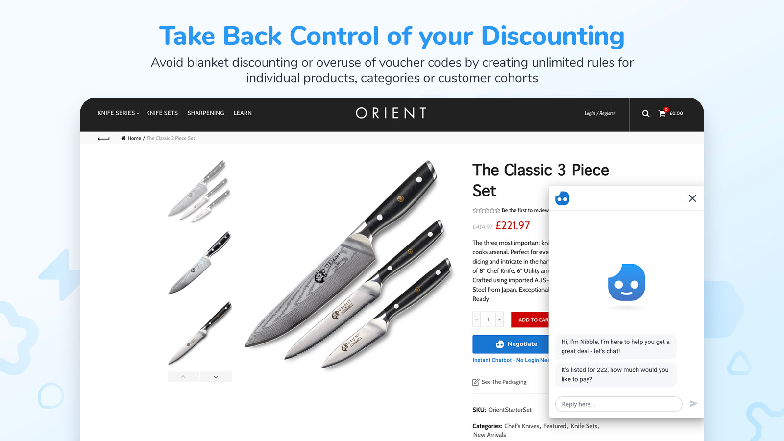 Control Your Discounting