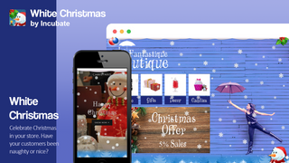 White Christmas app overview