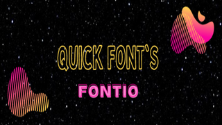 Fontio ‑ Add Any Fonts