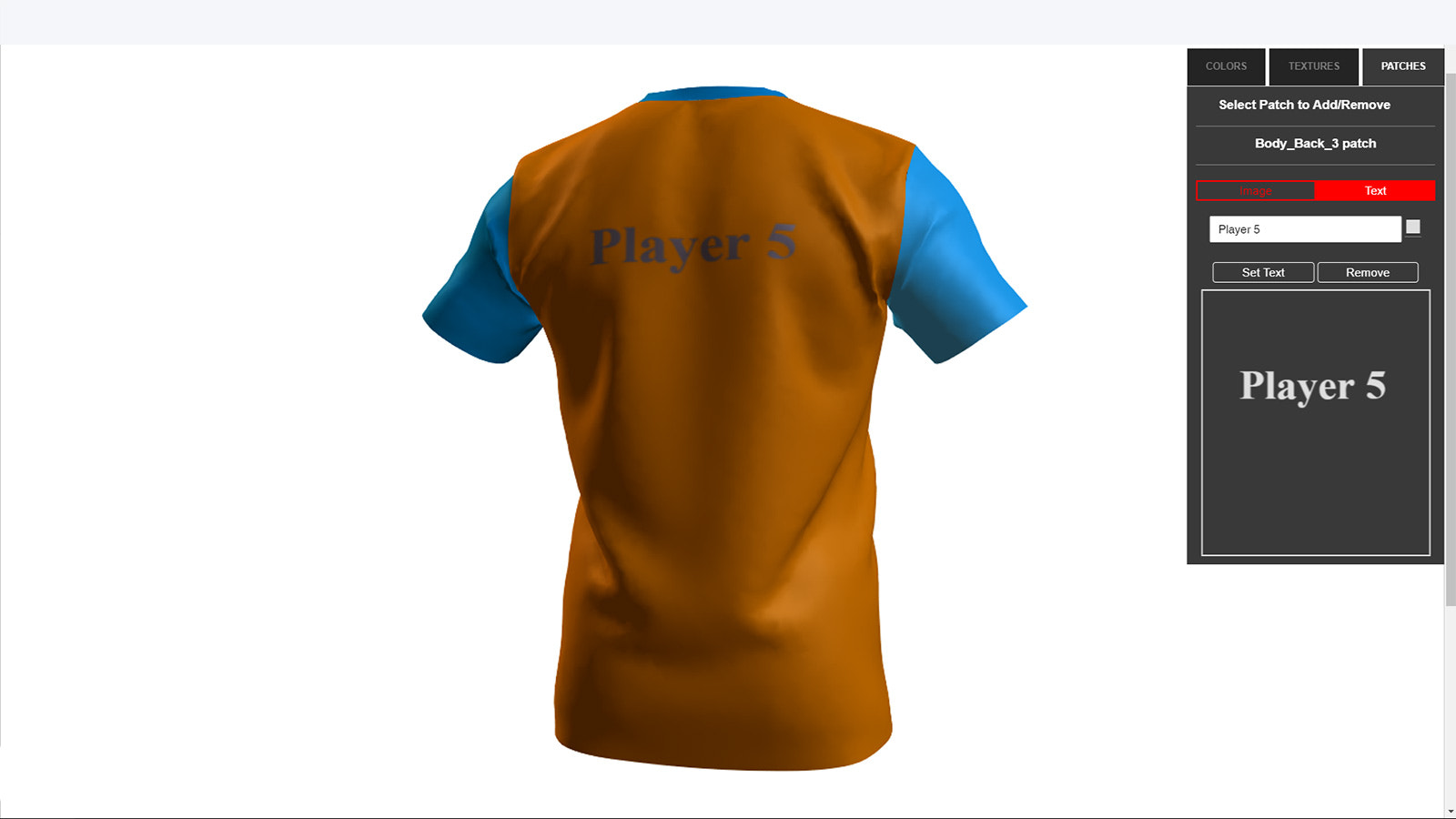 add text on 3D Model