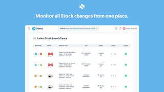 Syncr's History Page. Track all activities.