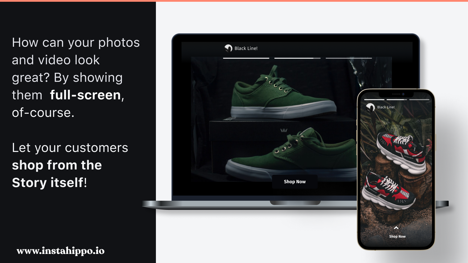 Story-set Page. Control what appears on your widget here.