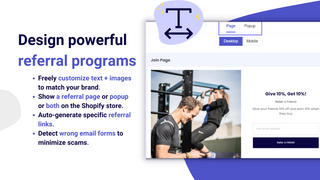 bloop-referrals-design-referral-program-page-and-popup