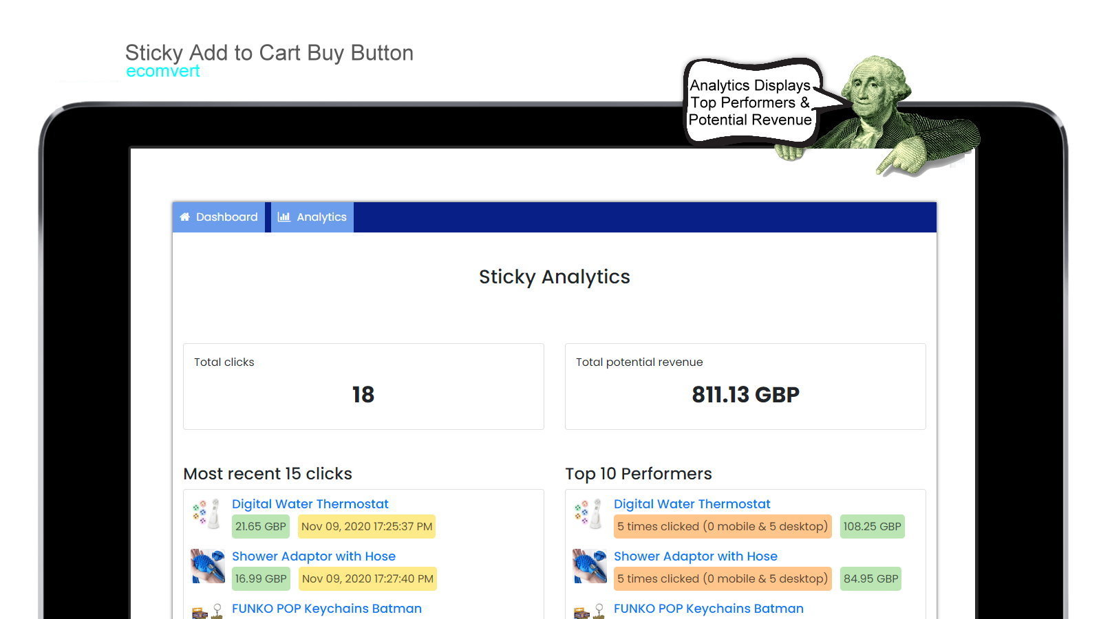 Sticky Cart Buttons But Now Button