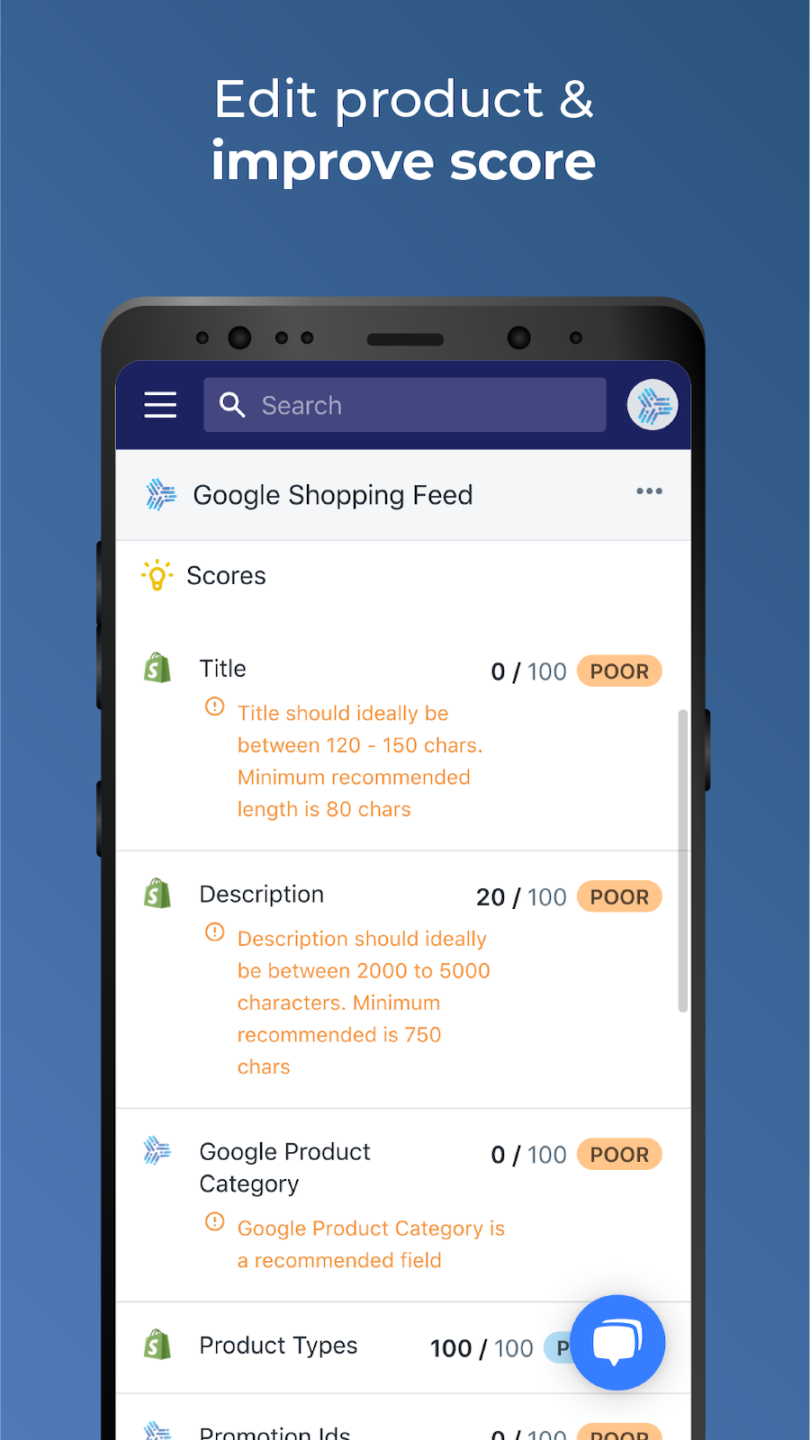 Improve product performance in Google Shopping Feed