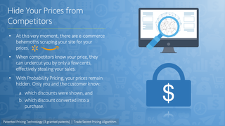 Hide Your Prices from Competitors
