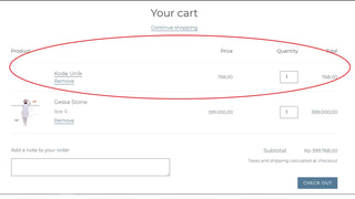 UniqueTransactions when customer on the checkout page