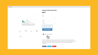 Add to Compare from product page