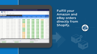 receive google, amazon and ebay orders in shopify