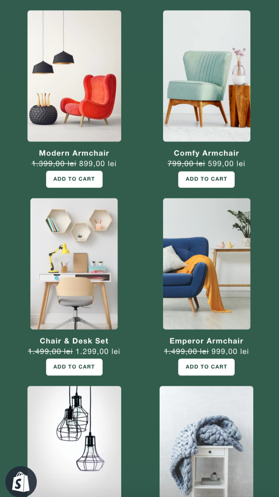 product sale featured discount collection responsive header menu