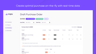 Cogsy Purchase Order