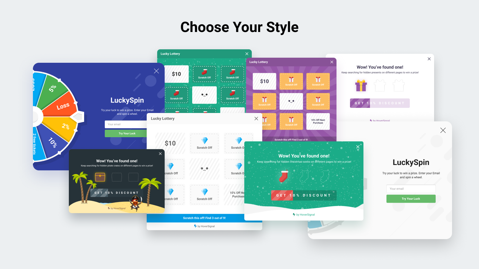 100+ ready-to-use templates