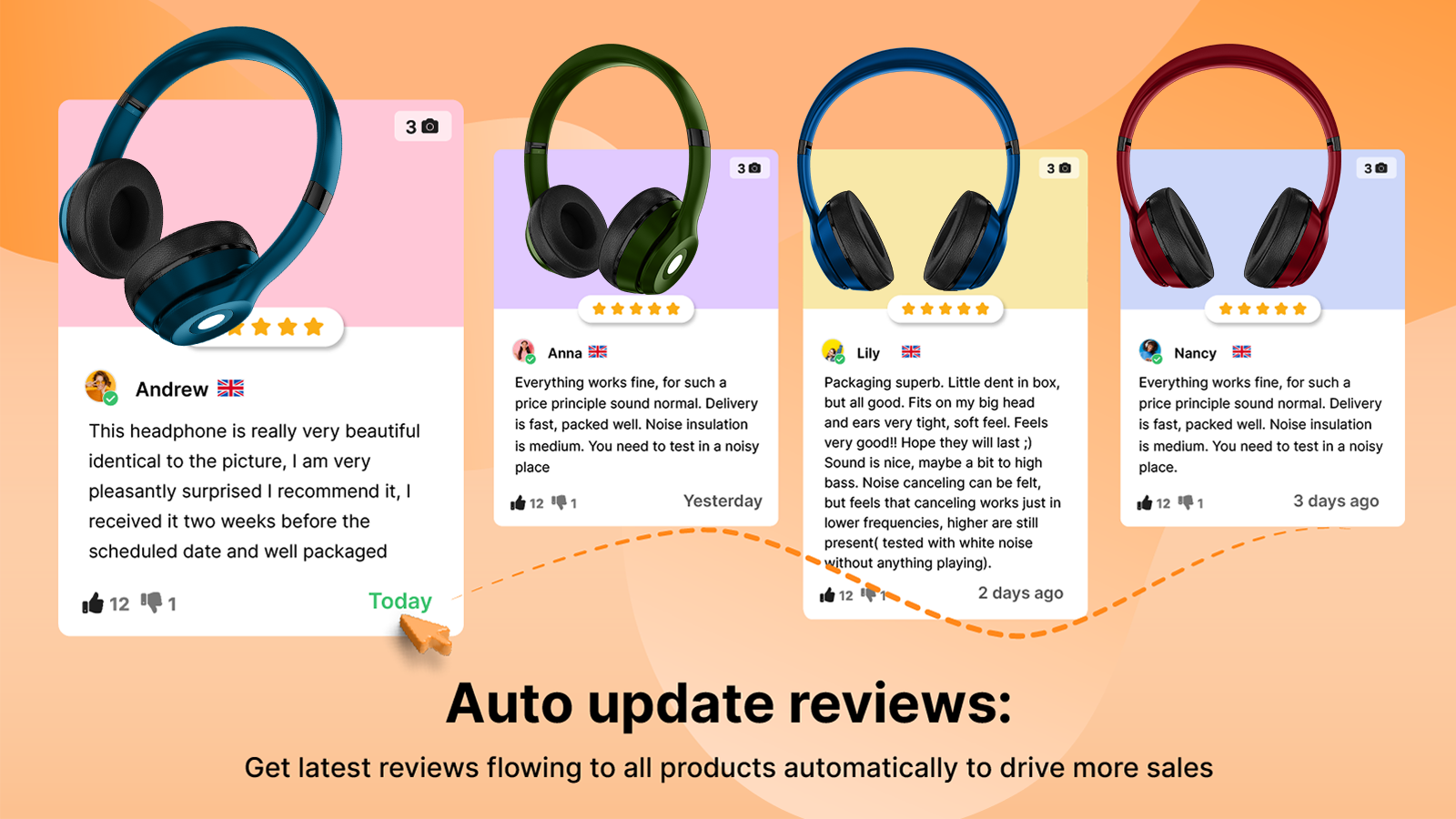 auto update reviews