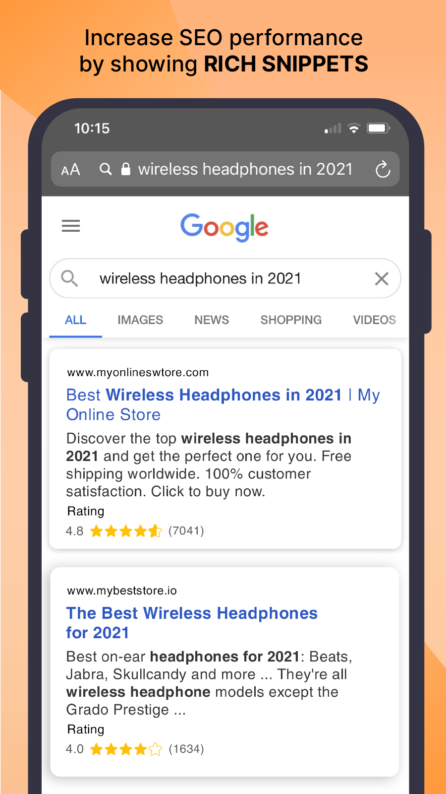 show seo snippet on google