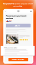 ali reviews review request email on mobile