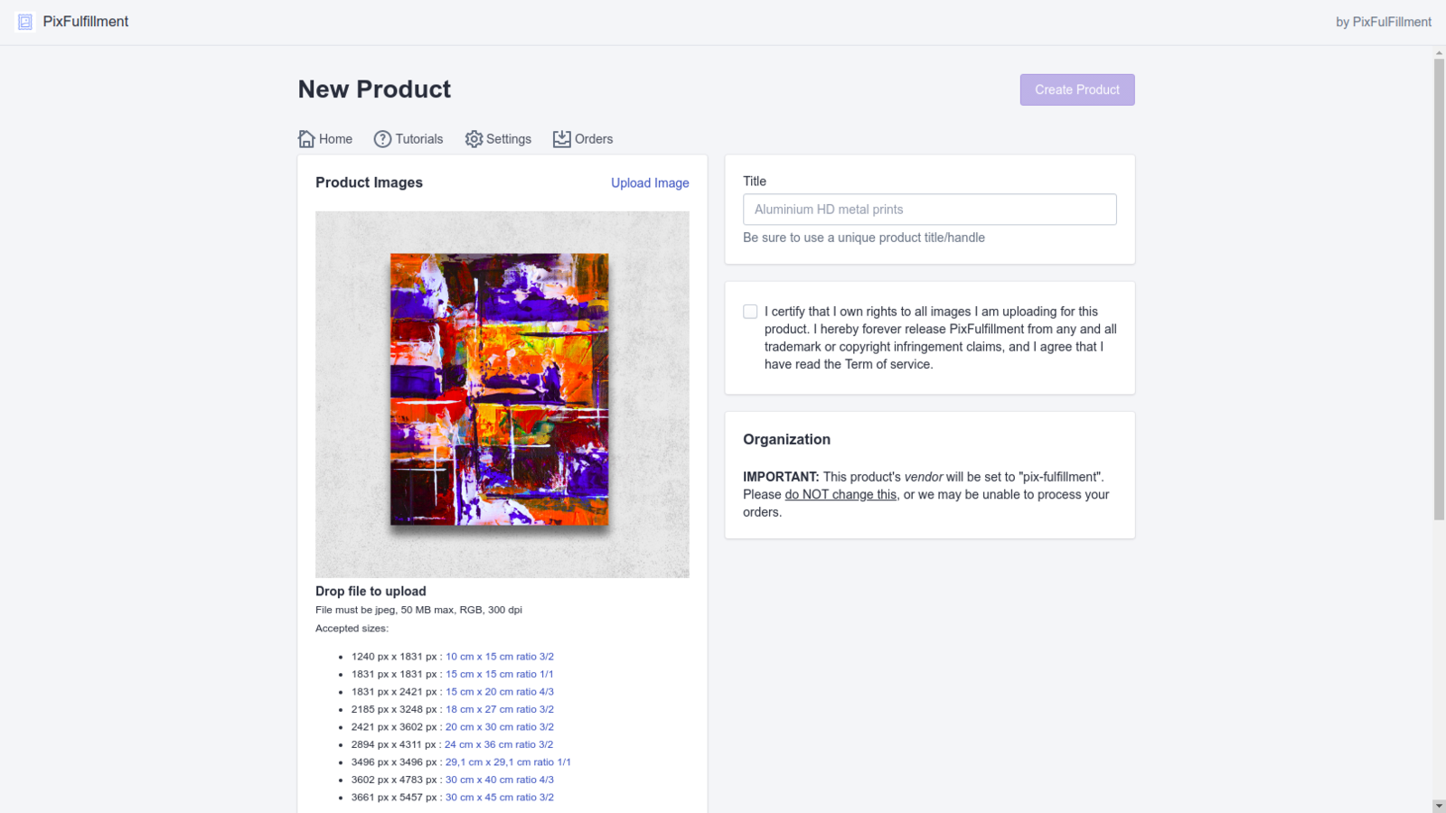 Add products and generate mockups