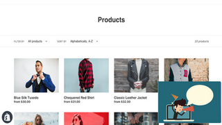 Feature and promote products in real time