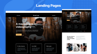 ConvertFlow Shopify Landing Pages