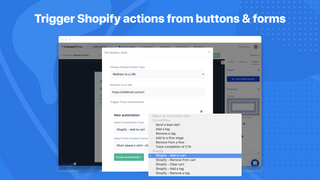 ConvertFlow Shopify Button Actions