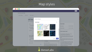 Custom map styles for your interactive Google maps