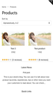 Reviews on collection page