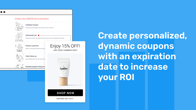 Personalized and dynamic coupons