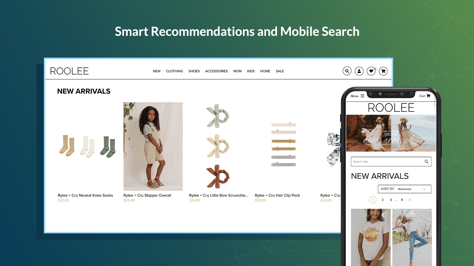 smart recommendations and mobile search