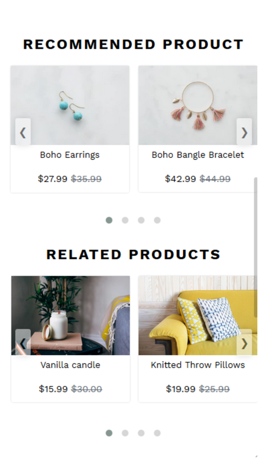 Personalized Recommendations And Related Products