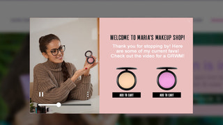 Shop Stories Shopify App to Show Video and Recommended Products