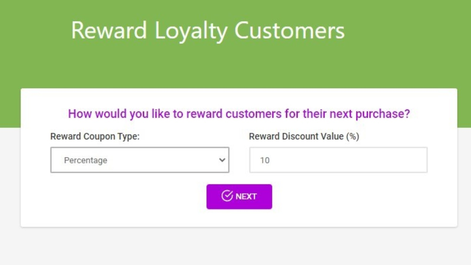 Refer a friend for customers