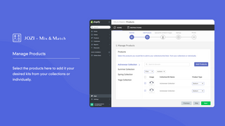 Manage Products