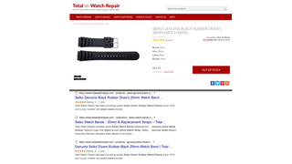 Client example: Product reviews highlighted in search results.