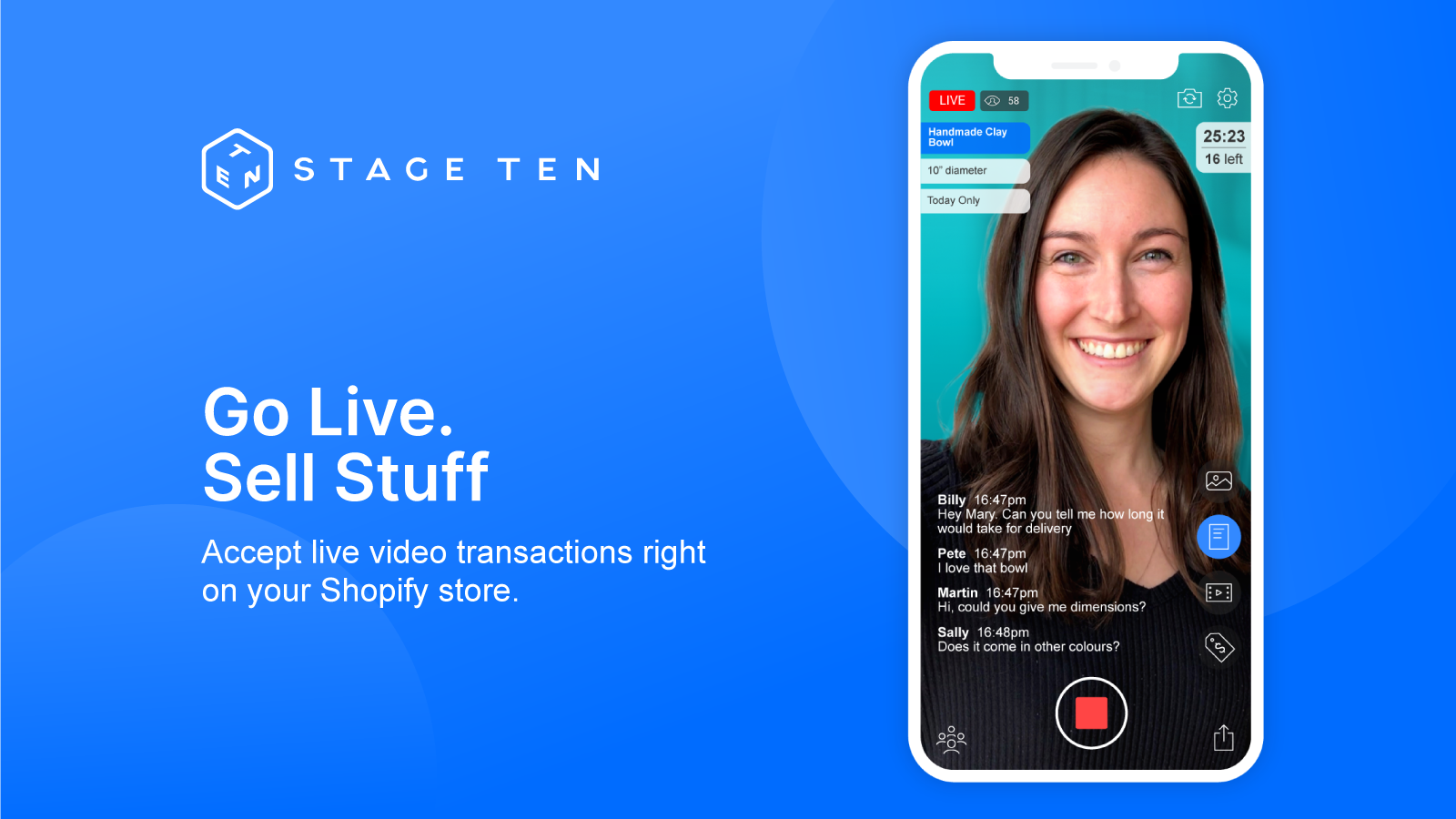 Sell more with live video