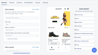 Email Service, Product Reviews and Push Notifications