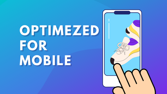 optimized for mobile