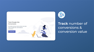 Track number of conversions and conversion value accurately