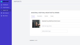 Import products to your store directly