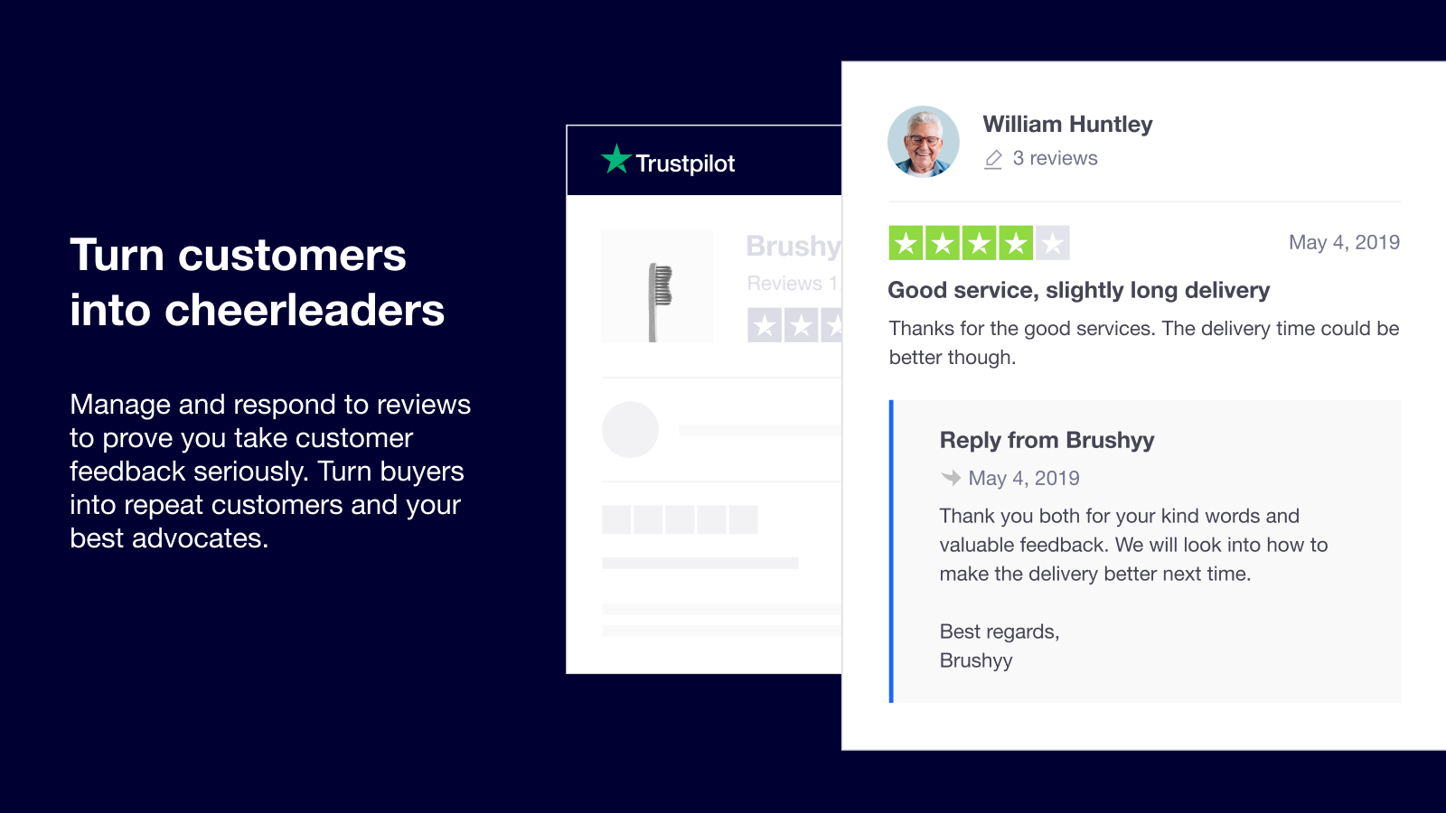 turn customers into advocates with trustpilot for shopify