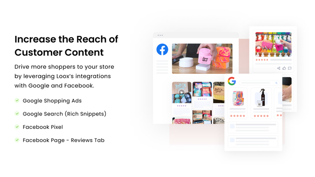 Increase the reach of customer content