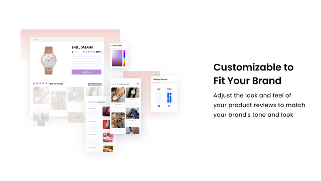 Customizable to fit your brand
