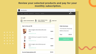 Review your selected products