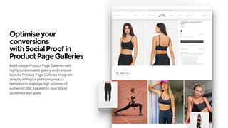 Optimise conversions with Social Proof in Product Page Galleries