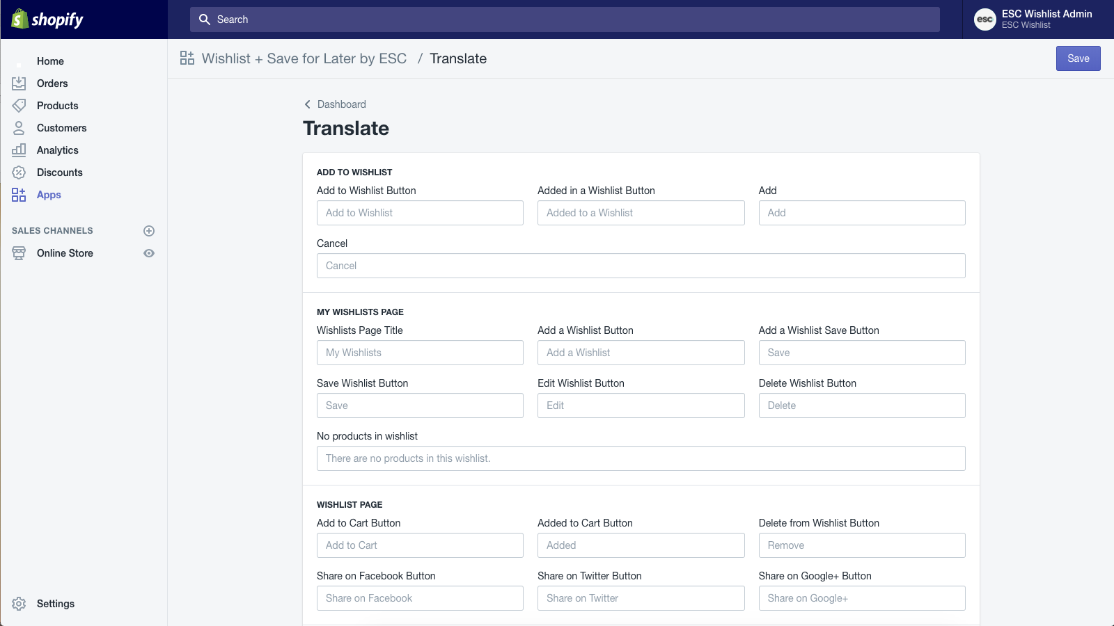 Provide translations or alternative text for all content.