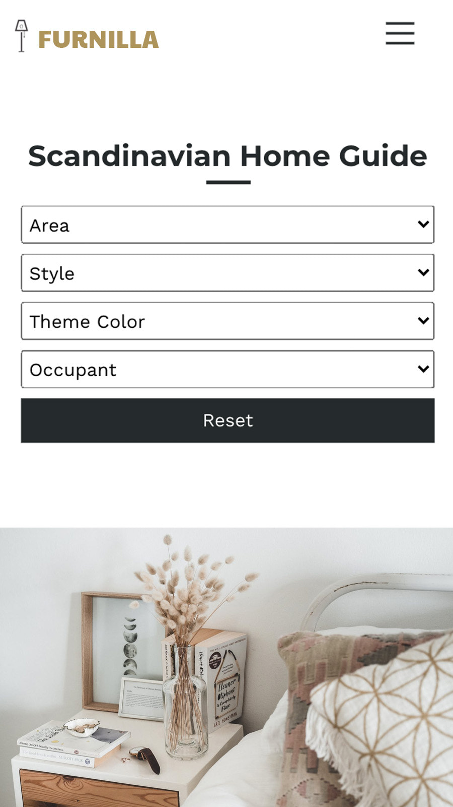 Style Guide with blog filter