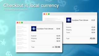 Multi-currency checkout for Shopify payment users