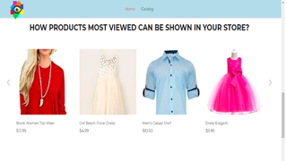 How products most viewed can be shown in your store using ProMoV