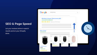 google shopping reviews, rich snippets, SEO, Optimized PageSpeed