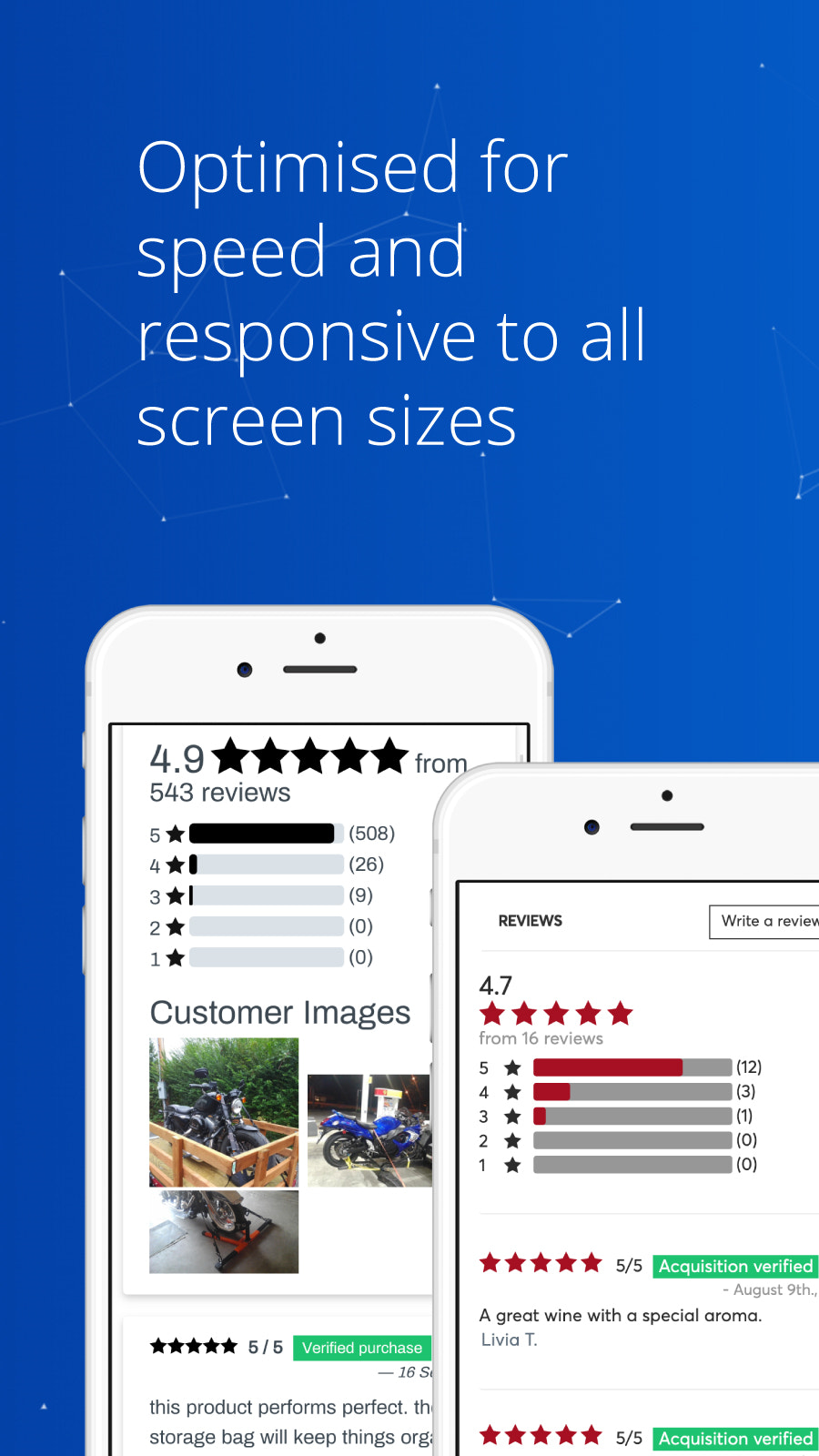 customer review comments SEO google reviews email ali review