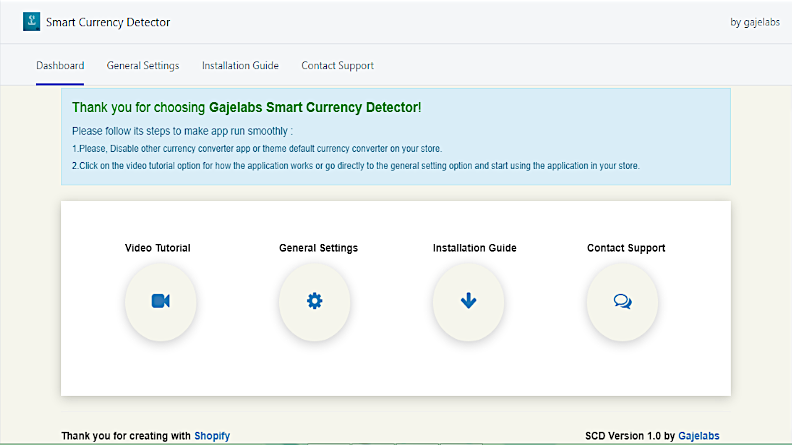 Presention of smart currency detector dashboard.